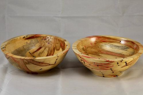 Box Elder set of twin candy bowls