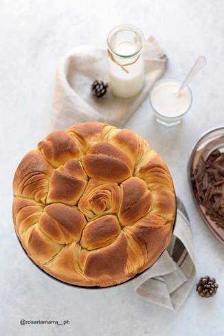 Brioche Bulgara Girasole...ovvero Bulgurian Sunflower Sweet Bread