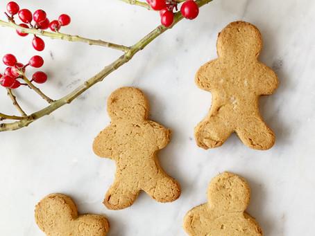 Tigernut Gingerbread Cookies