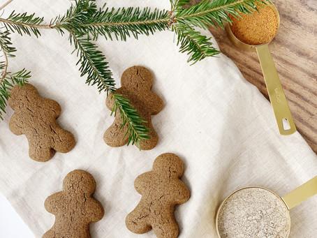 Buckwheat Gingerbread Cookies