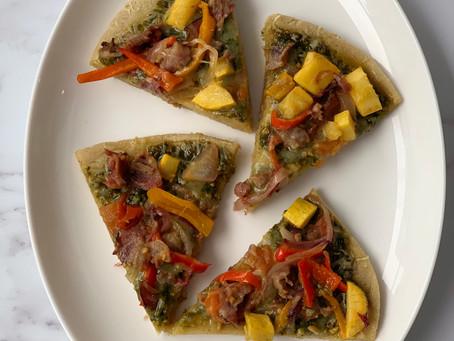 Cassava Flour Pizza Crust