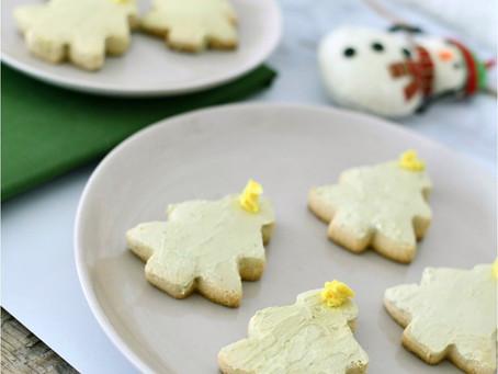 """Paleo Xmas Tree """"Sugar Cookies"""""""