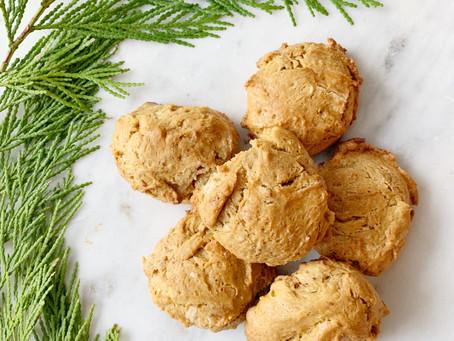 Flourless Cashew Cookies