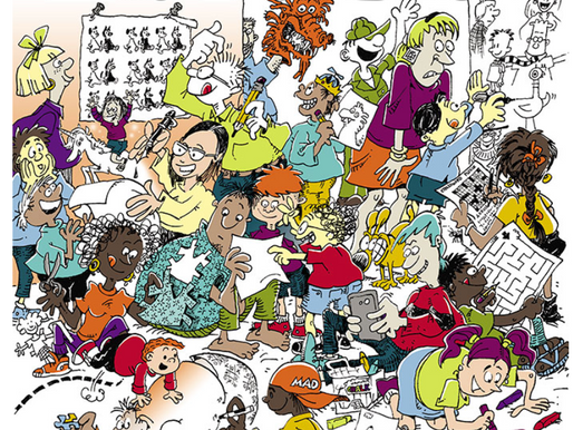 Signal Boost: National Cartoonists Society Have a New Activity Book!