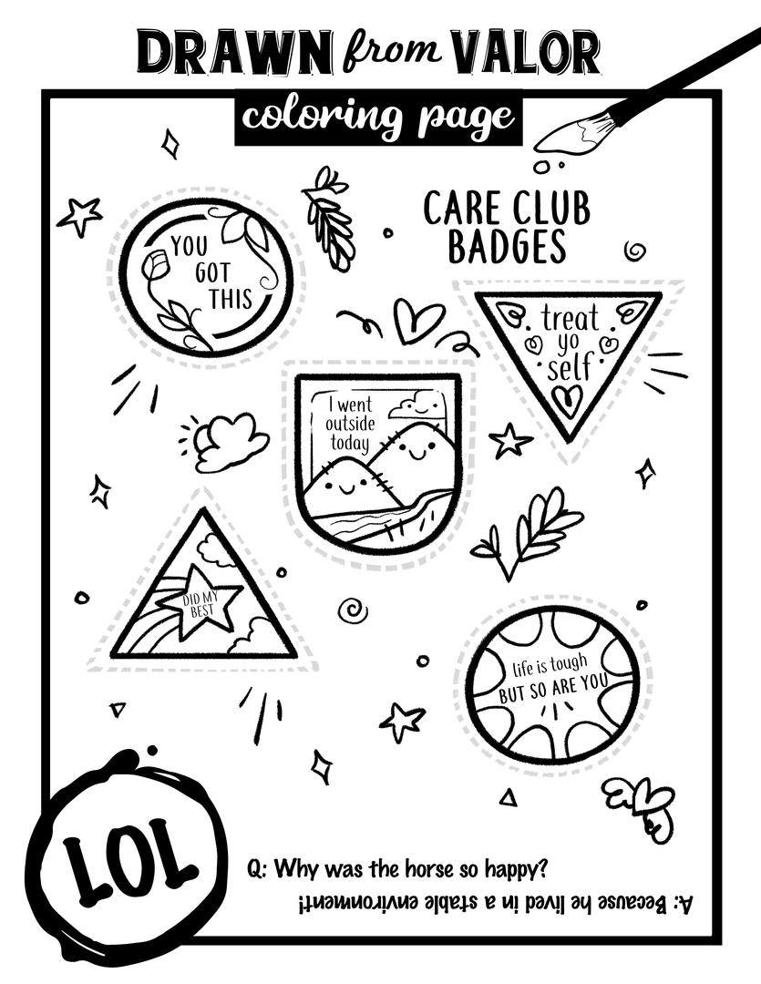 Care Club Badges