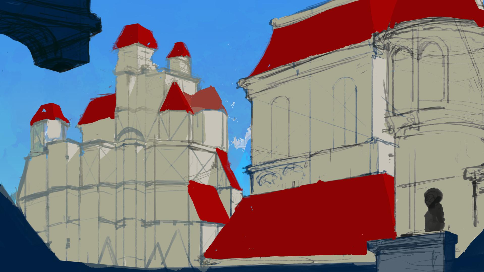 Castle Exterior 2