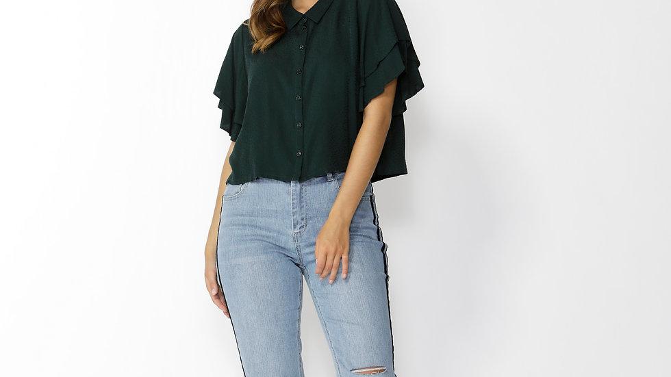Groove ruffle shirt
