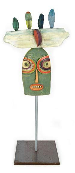 Garden Totem: Featherhead - Side 2