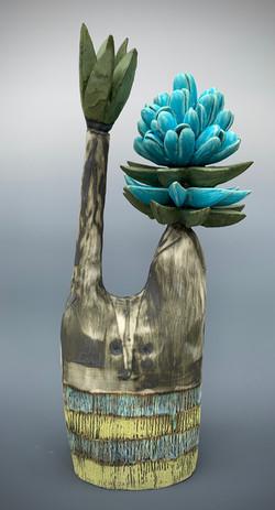 Joshua Tree with Spikes & Blossom
