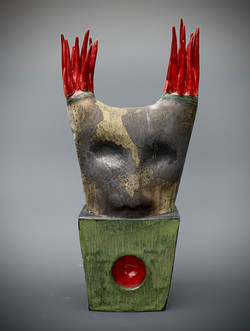 Red Spiked Creature