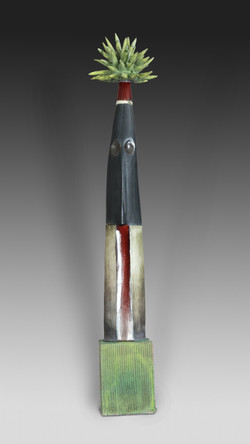 Desert Dagger in Red & Green
