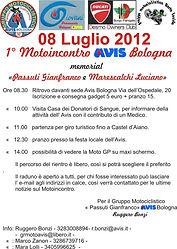 Motoincontro 2012 una cinquantina di moto da Avis fino a Castel D'Aiano