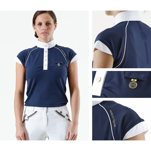 Premier Equine Empoura Ladies Competition Shirt