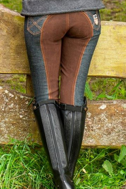 HKM Miss Blink Breeches Brown Seat