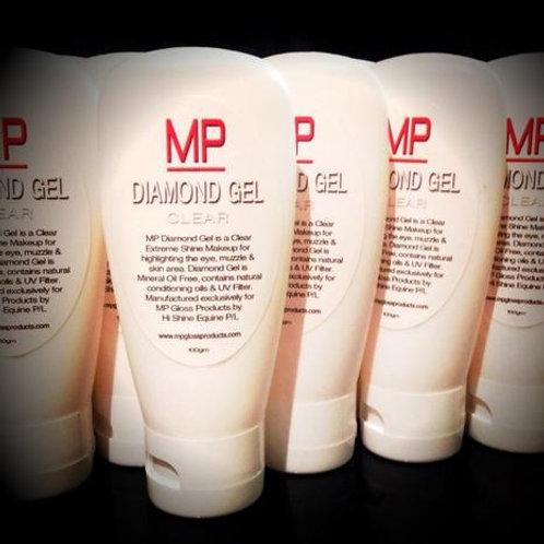 MP Diamond Gel - Clear or Black Onyx 100g