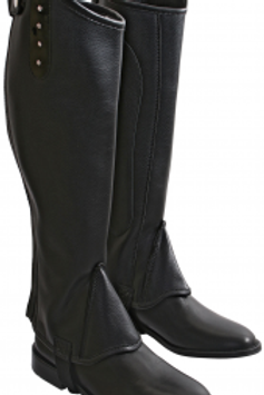 Wild with Flair Gaiters Diamante Patent Trim