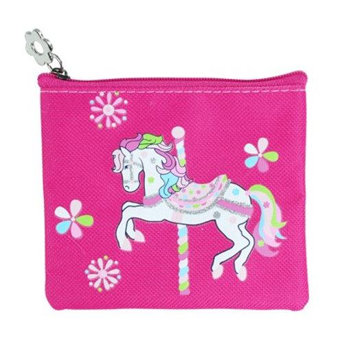 Carousel Pony Coin Purse