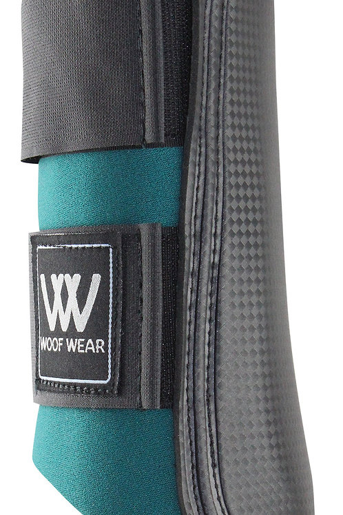 Woof Wear Brushing Boots Small Black & Green