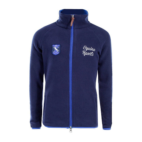 Horze Kids & Ponies Trine Fleece Jacket Dark Blue