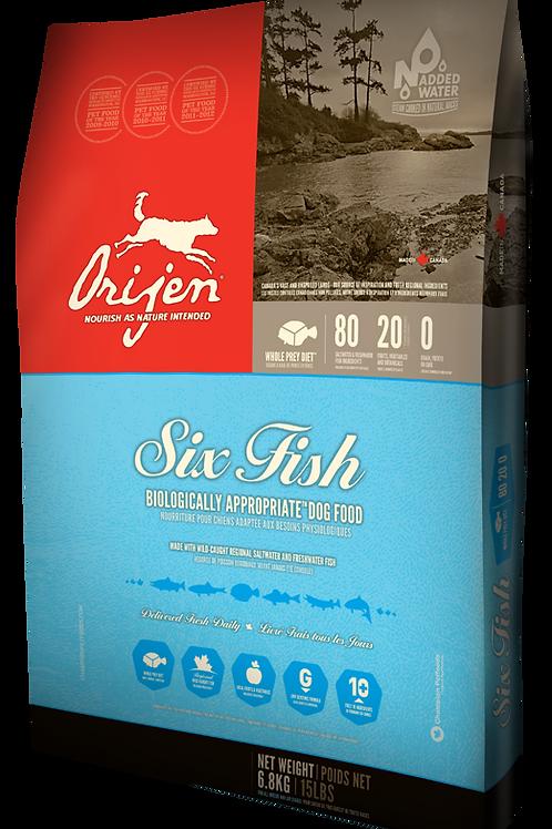 Orijen Six Fish 6.8kg