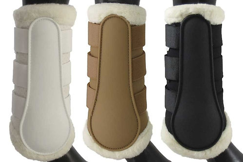 Equinenz Wool Lined Brushing Boots