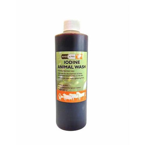 AHD Iodine Animal Wash 500ml