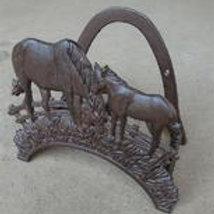 Horse Hose Hanger 2 Horses