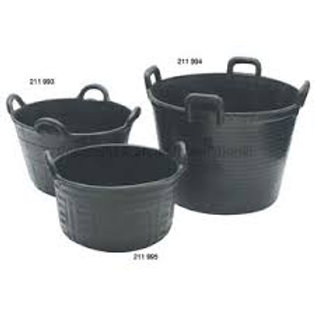 Feed Tub Recycled Rubber 4-handle 37L