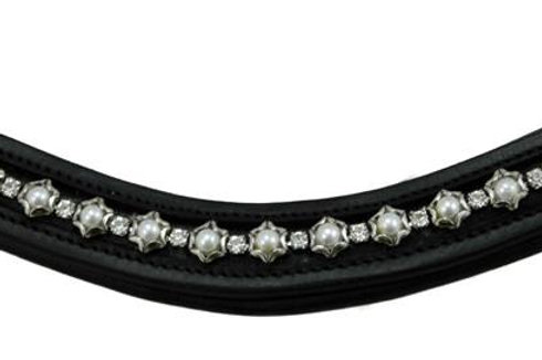 Flexible Fit Pearl & Crystal Wave Browband