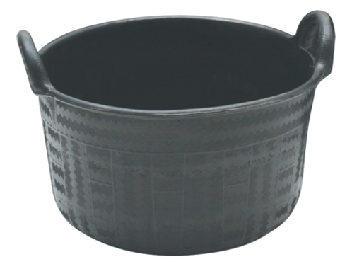 Feed Tub Recycled Rubber 2-handle 34L