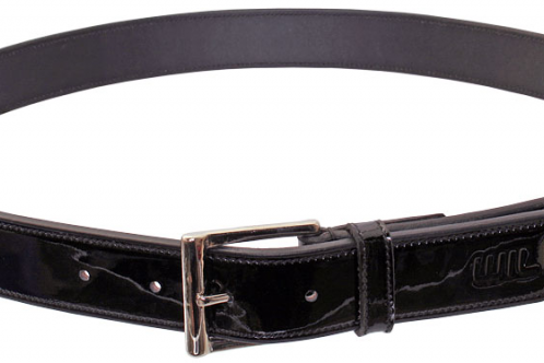Wild with Flair Patent Leather Belt