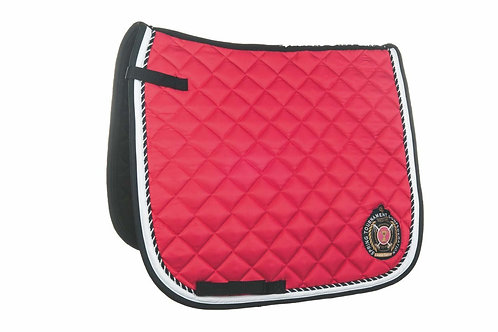 HKM Classic Polo Dressage Pad Pink Full