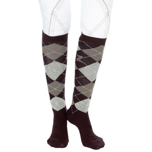 Horze Holly Argyle Socks