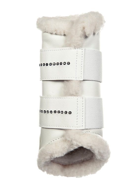 HKM Comfort Protection Boots Decorated w/ fine Crystal