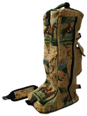 Cavallino Tapestry Boot Bag