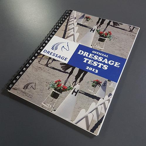 Dressage NZ Test Book