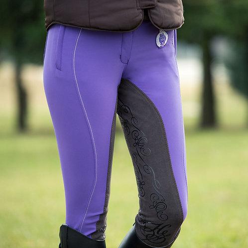 Horze Kiana Breeches Purple