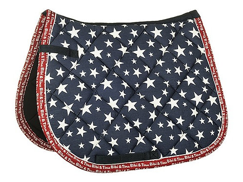 HKM Bibi & Tina Star Saddle Pad