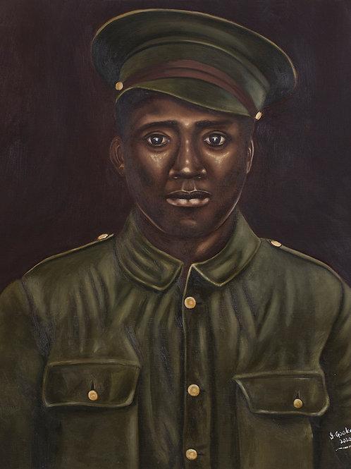WW1 Veteran: Lionel Turpin, 2019. JACooke