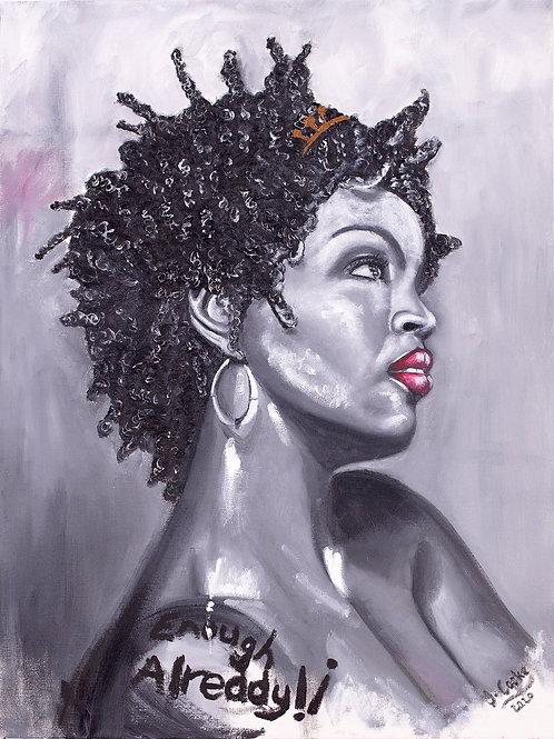 Inspirational Artists: Lauryn, 2020. JACooke