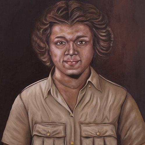 WW2 Veteran: Constance Mark, 2019. JACooke