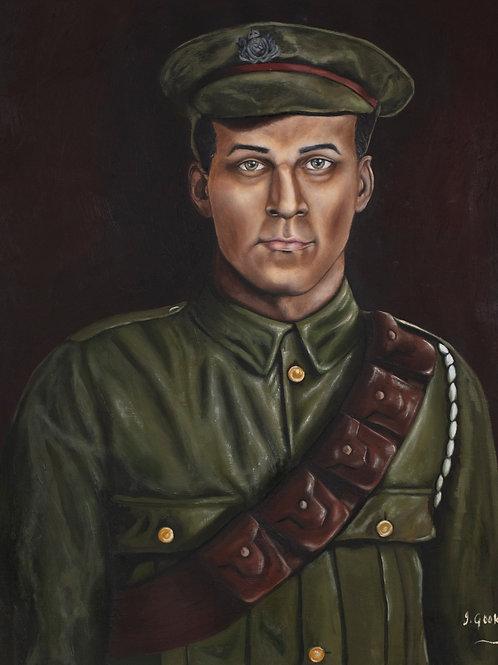 WW1 Veteran: Norman Manley, 2021. JACooke