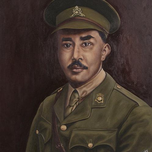 WW1 Veteran: George Bemand, 2019. JACooke