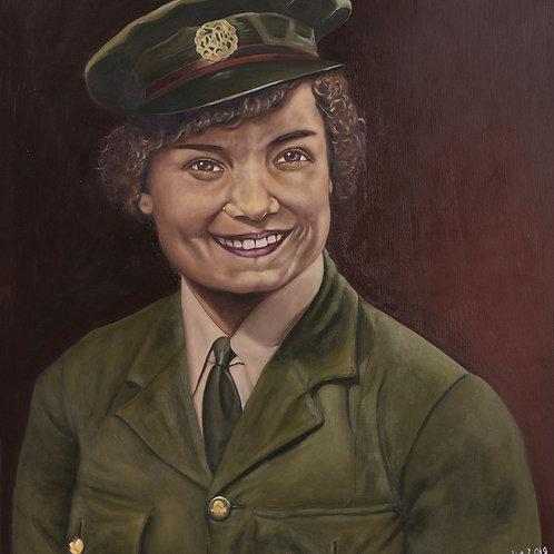 WW2 Veteran: Lilian Badar, 2019. JACooke