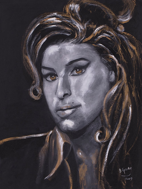 Inspirational Artists: Amy (Amy Winehouse), 2020. JACooke