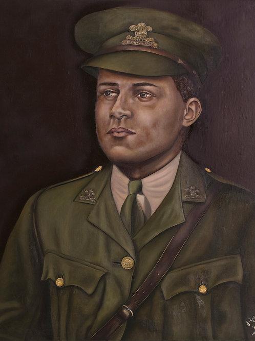 WW1 Veteran: David Louis Clemetson, 2019. JACooke