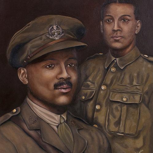 WW1 Veteran: Walter Tull, 2019. JACooke