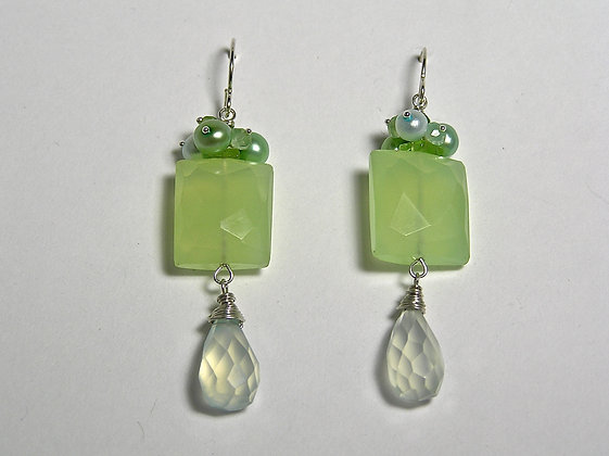 Sadie Green Earring