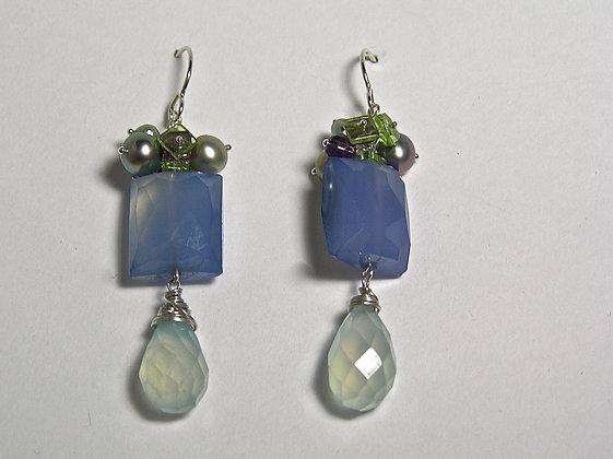 Sadie Blue Earring