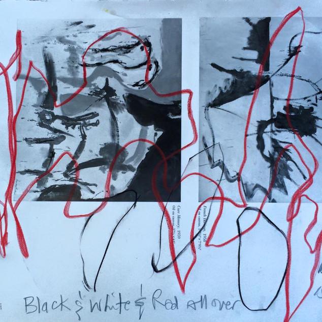 Black & White & Red ALL over